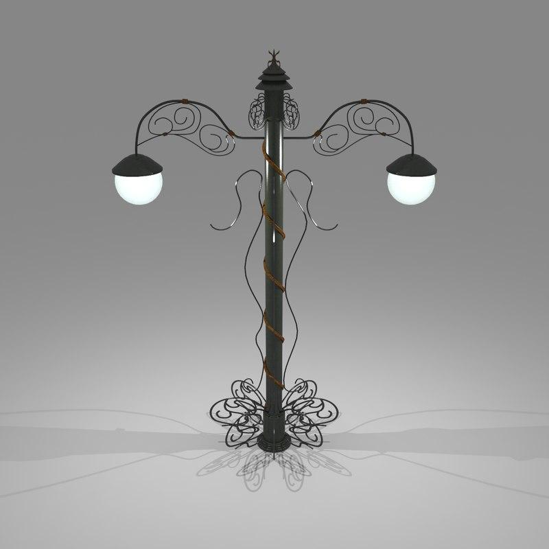 max street lamp lighting