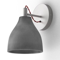 3d sconce decode heavy wall light