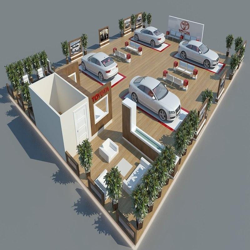 exhibition design 101 3ds