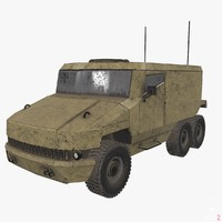 3d armored military vehicle