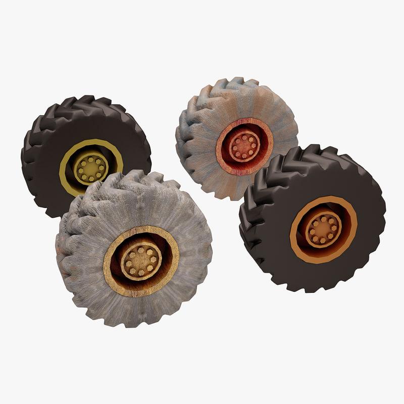construction loader wheel max