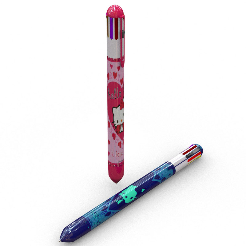 ball-point pen 3d model