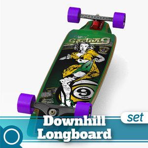 3dsmax tiffany complete longboard