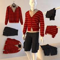 3d clothing men s