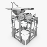 3d forklift layer picker model