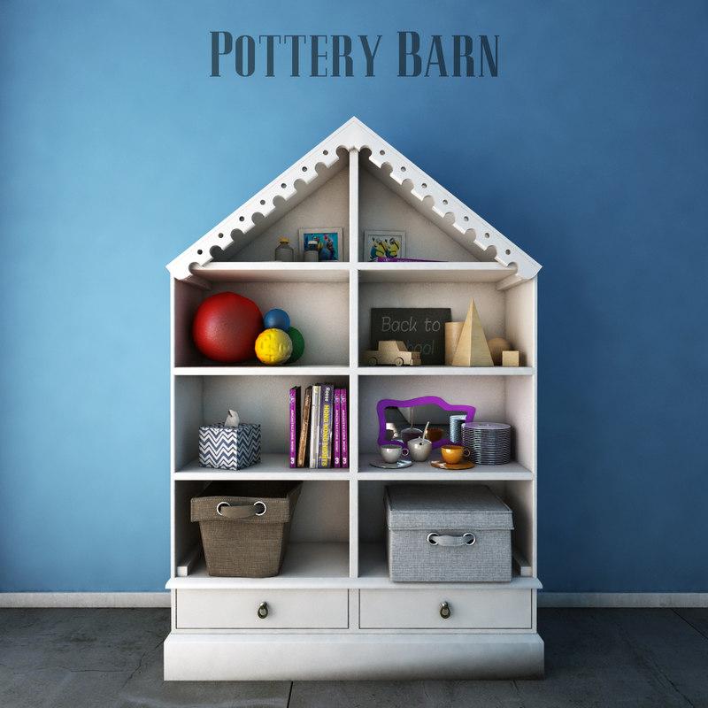 max pottery barn kids bookcases