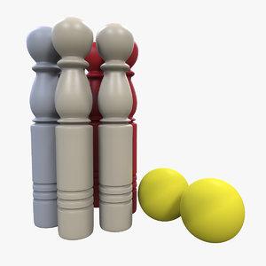skittle toy 3d model