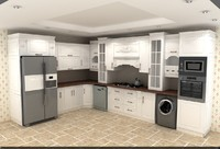 kitchen cabinet 3d max