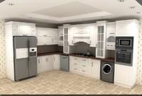 kitchen cabinet 3d max