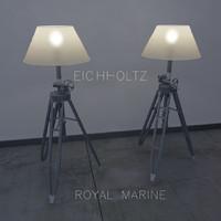 3d floor lamp royal marine model