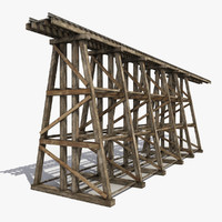 Modular Wooden Railway Bridge 6