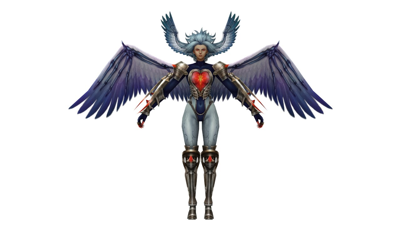 3d model figures character