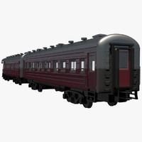 Passenger Train Car