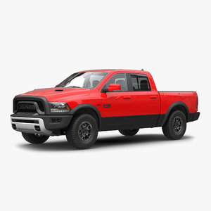 dodge ram rebel 2016 3d max