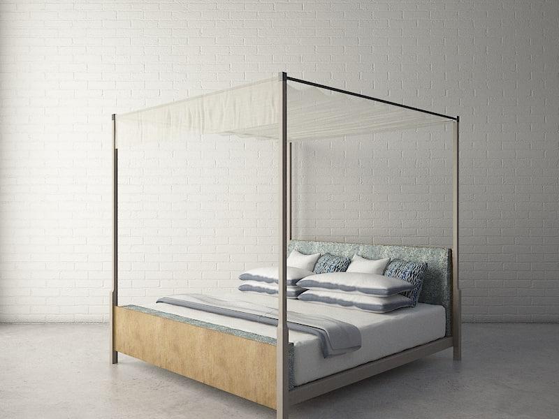 3d custom designed bed
