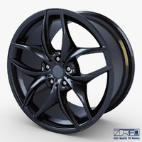 Style 215 wheel black Mid Poly