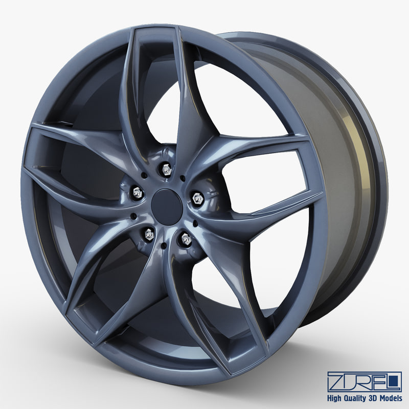 style 215 wheel ferric 3d model