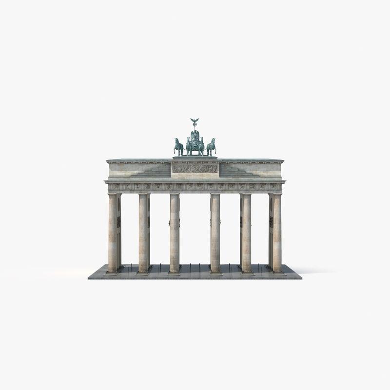 brandenburg gate max