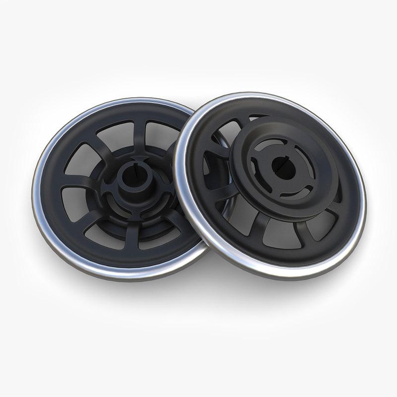 steampunk wheel 34 max