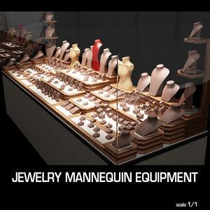 3ds jewelry equipment
