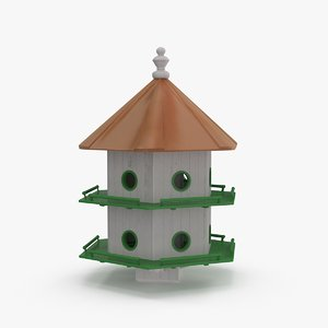 birdhouse bird house 3d model