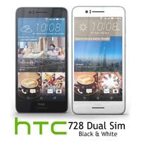 3d model htc desire 728 dual