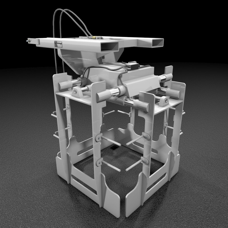 3d forklift layer picker model