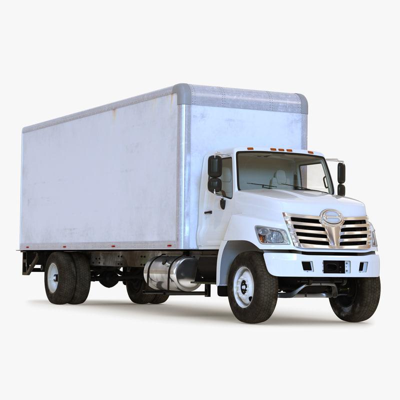 3ds box truck simple interior