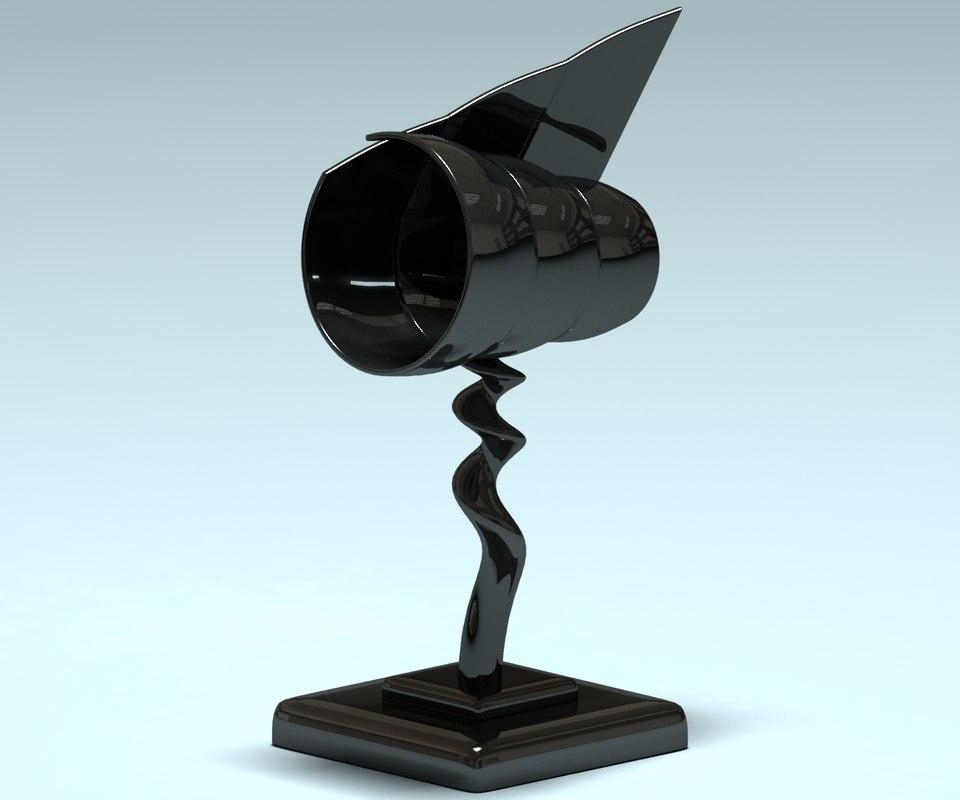 statue statuette shell 3ds