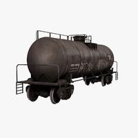 Train Oil Tanker