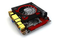 3d asus rog maximus viii model