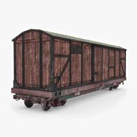 3d model boxcar good