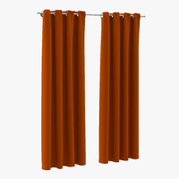 curtain 3 orange max