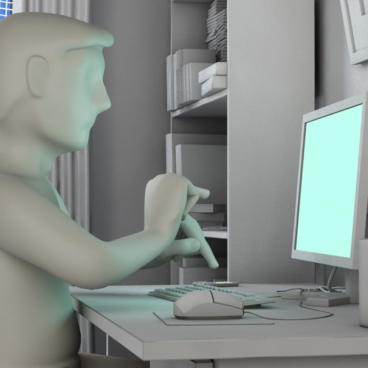 animation project 3d max