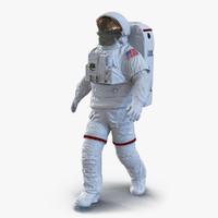 3dsmax extravehicular mobility unit visor