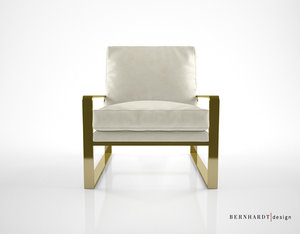 bernhardt design dorwin chair 3d max