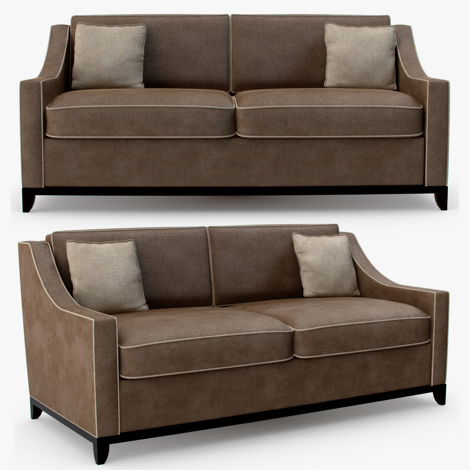 The Sofa and Chair company - Spencer 2 seater sofa