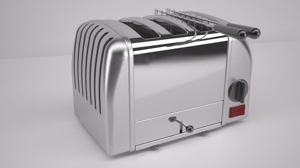 toaster electric 3d max