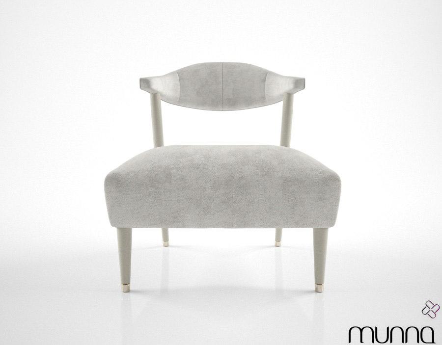 3d munna femina chair model