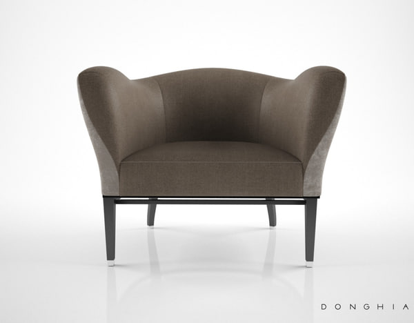 3d donghia carmen club chair