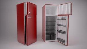 refrigerator 3d model