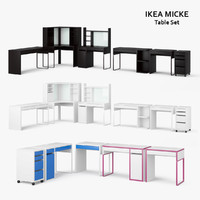 ikea micke table set max
