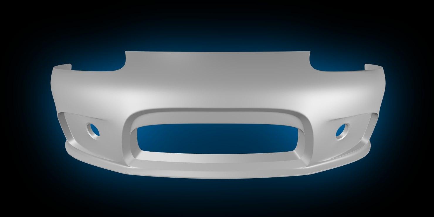 free 3ds model bumper