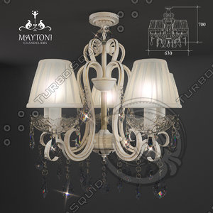 3ds chandelier maytoni