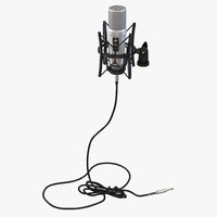 studio microphone rode 2 3d max