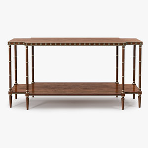 3d stand console hickory chair