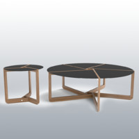 Blu Dot Pi Coffee & Side Table