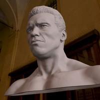 3d bust arnold schwarzenegger printable
