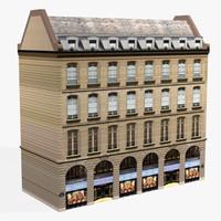 european building 01 3d max