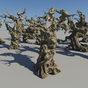 ma dead trees forest
